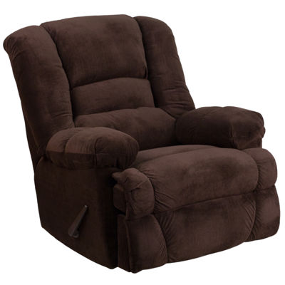 Contemporary Dynasty Microfiber Rocker Recliner