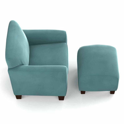 Leo Park Chair and Ottoman