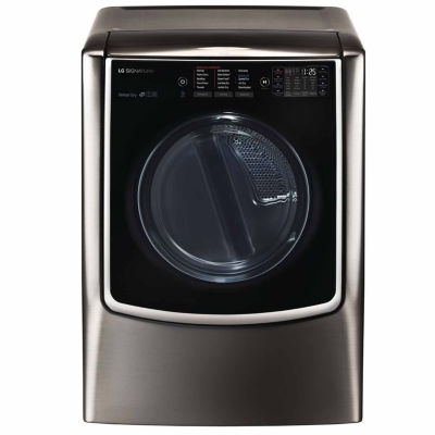 LG 9.0 cu. ft. Wi-Fi Enabled Electric Dryer with TurboSteam™