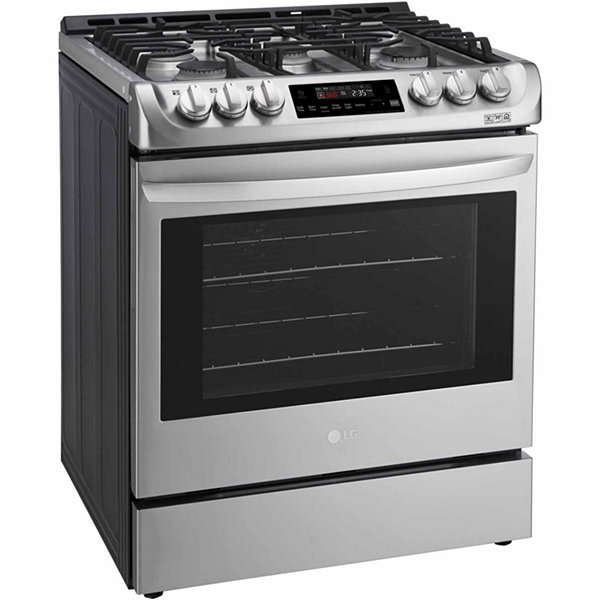 LG 6.3 cu. ft. Gas Slide-in Range with ProBake Convection™ and EasyClean®