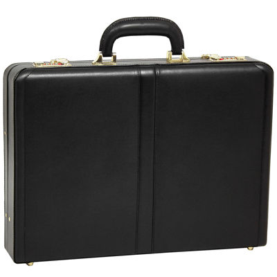 "McKleinUSA Reagan Leather 3.5"" Attaché Briefcase"