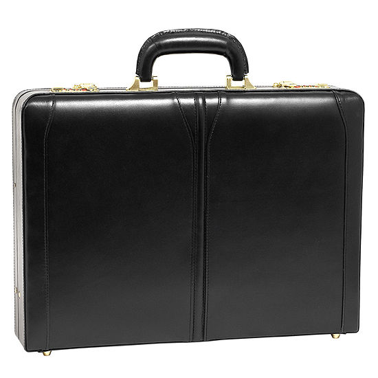 "McKleinUSA Lawson Leather 3.5"" Attaché Briefcase"
