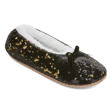 Mixit 1 Pair Sequined Slipper Socks