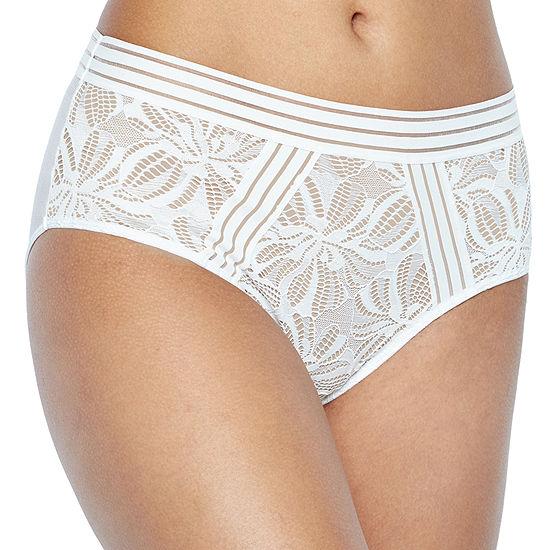 Ambrielle Explicit Lace Modern Brief Lace Brief Panty