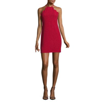 Jump Girl Sleeveless Bodycon Dress-Juniors