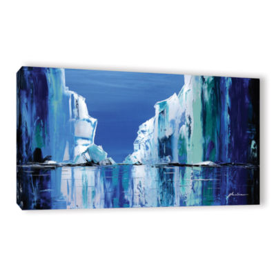 Brushstone Gelid Gallery Wrapped Canvas