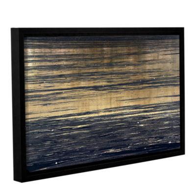Brushstone Golden Sand Gallery Wrapped Floater-Framed Canvas