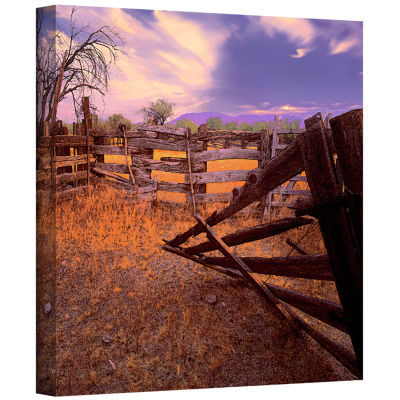 Brushstone ghost ranch Gallery Wrapped Canvas