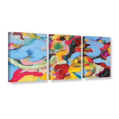 Brushstone Gathering Season 3-pc. Gallery WrappedCanvas Set