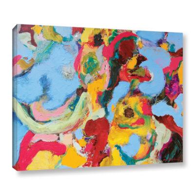 Brushstone Gathering Season Gallery Wrapped Canvas