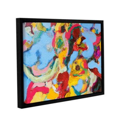 Brushstone Gathering Season Gallery Wrapped Floater-Framed Canvas