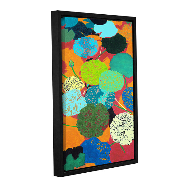 Brushstone Georgia Heat Gallery Wrapped Floater-Framed Canvas