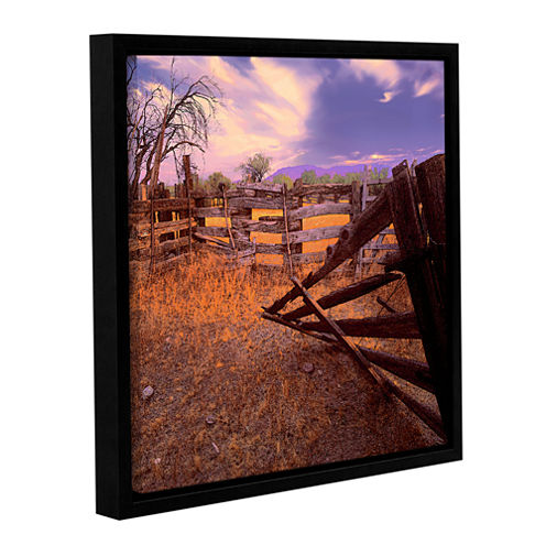 Brushstone Ghost Ranch Gallery Wrapped Floater-Framed Canvas Wall Art