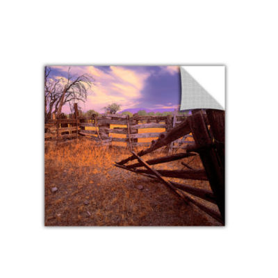 Brushstone ghost ranch Removable Wall Decal