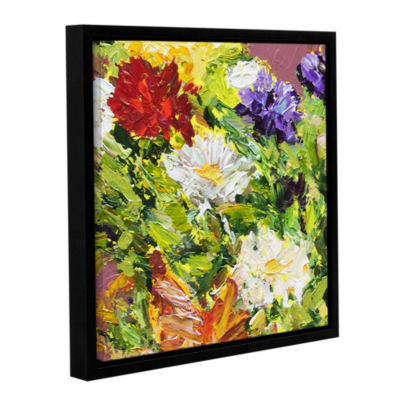 Brushstone Giving Love 2 Gallery Wrapped Floater-Framed Canvas