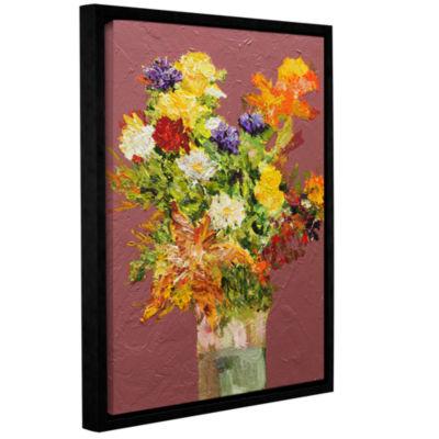 Brushstone Giving Love Gallery Wrapped Floater-Framed Canvas