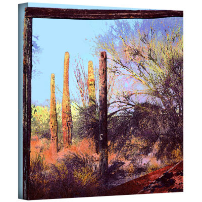 Brushstone Ghost Ranch 2 Gallery Wrapped Canvas