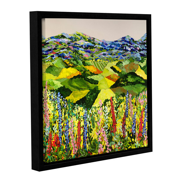 Brushstone Going Wild Gallery Wrapped Floater-Framed Canvas
