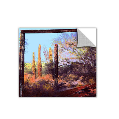 Brushstone Ghost Ranch 2 Removable Wall Decal