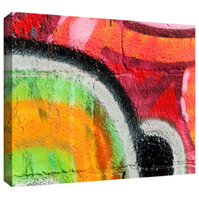 Brushstone Graf 31 !! Gallery Wrapped Canvas