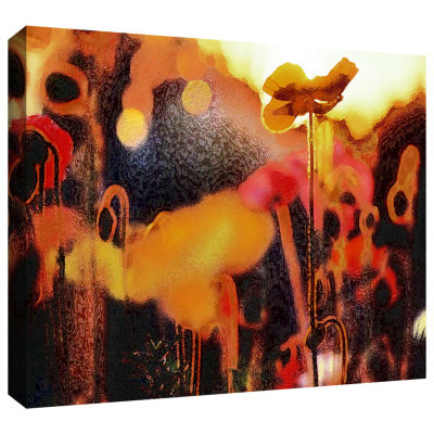 Brushstone Garden Enchanted Gallery Wrapped Canvas