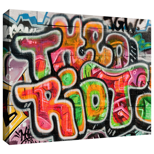 Brushstone Graf 37 Gallery Wrapped Canvas