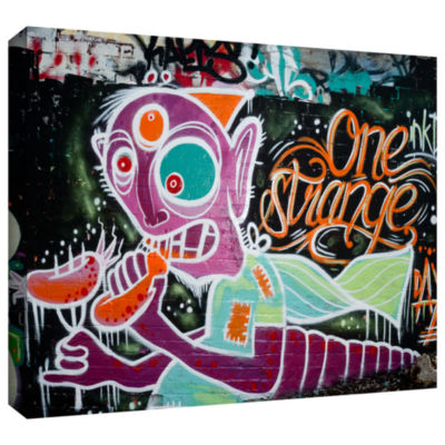 Brushstone Graf 109 Gallery Wrapped Canvas