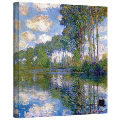 Brushstone Garden Picnic Gallery Wrapped Canvas