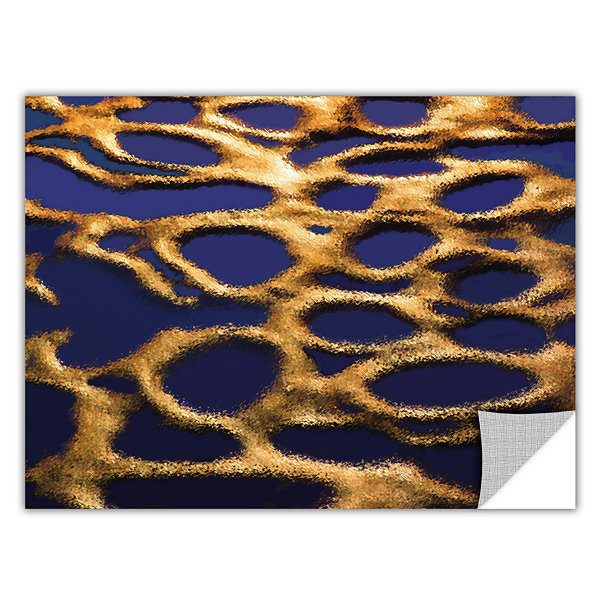 Brushstone Golden Pools Removable Wall Decal