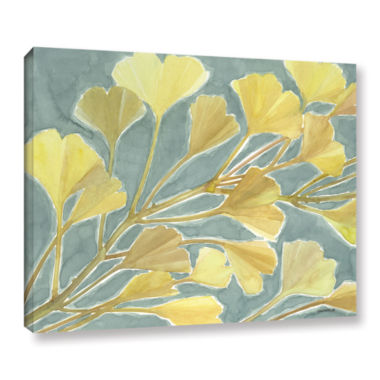 Brushstone Gorgeous Ginko Gallery Wrapped Canvas