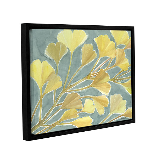Brushstone Gorgeous Ginko Gallery Wrapped Floater-Framed Canvas