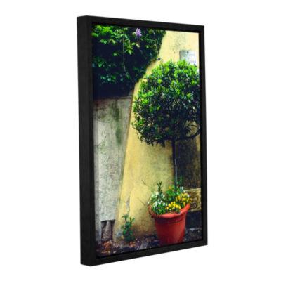 Brushstone Giardino di Boboli Wall Gallery WrappedFloater-Framed Canvas