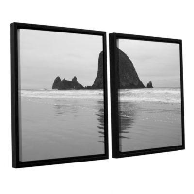 Brushstone Goonies Rock 2-pc. Floater Framed Canvas Set