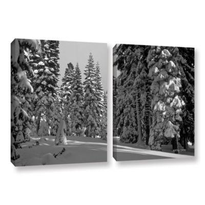 Brushstone Glimpse 2-pc. Gallery Wrapped Canvas Set