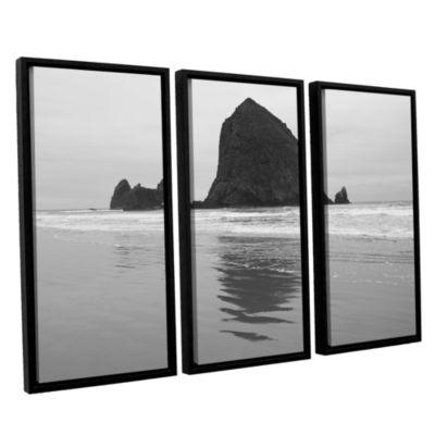 Brushstone Goonies Rock 3-pc. Floater Framed Canvas Set