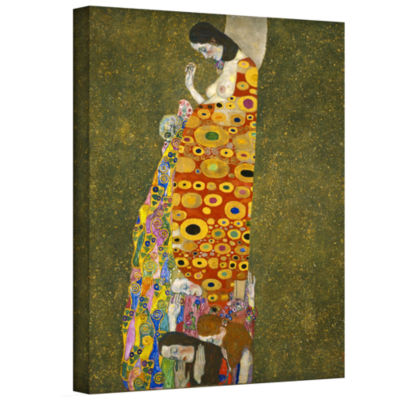 Brushstone Garden Gallery Wrapped Canvas