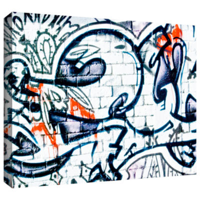 Brushstone Graf 12 Gallery Wrapped Canvas