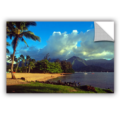 Brushstone Golden Light on Hanalei Removable WallDecal