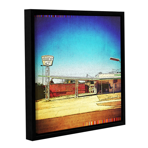 Brushstone Fuel Gallery Wrapped Floater-Framed Canvas