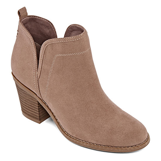 a.n.a Womens Mele Block Heel Slip-on Booties