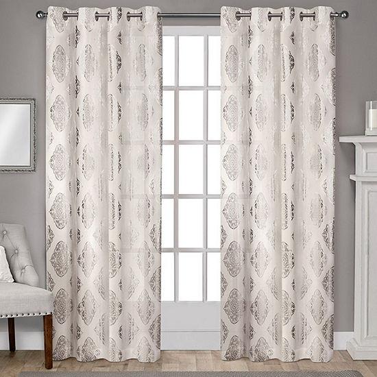 Augustus Room Darkening Grommet-Top Curtain Panel