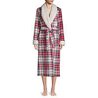 JCPenney deals on Liz Claiborne Womens Fleece Long Sleeve Long Length Robe