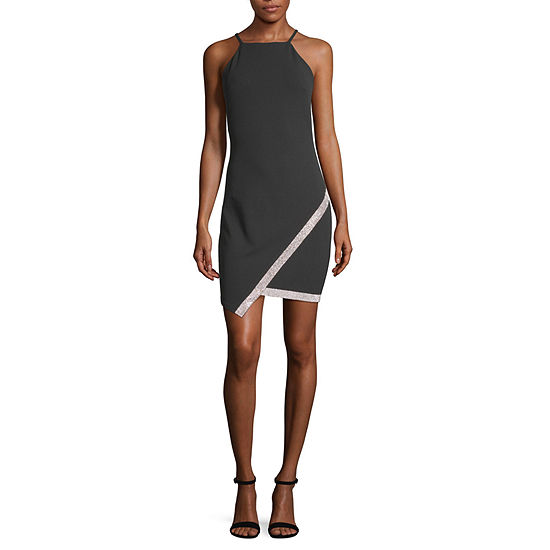 by&by-Juniors Sleeveless Bodycon Dress