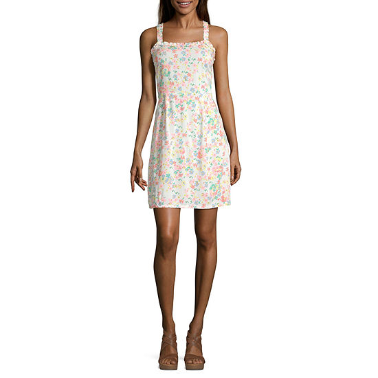 Arizona-Juniors Sleeveless Dress Set
