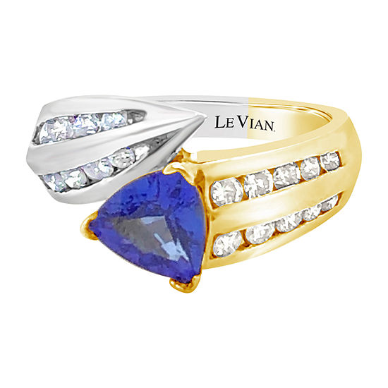 Le Vian Grand Sample Sale™ Ring featuring Blueberry Tanzanite® set in 18K Two Tone Gold