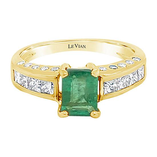 Le Vian Grand Sample Sale™ Ring featuring Costa Smeralda Emeralds™ set in 18K Honey Gold™