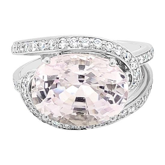 Le Vian Grand Sample Sale™ Ring featuring Kunzite Vanilla Diamonds® set in 18K Vanilla Gold®