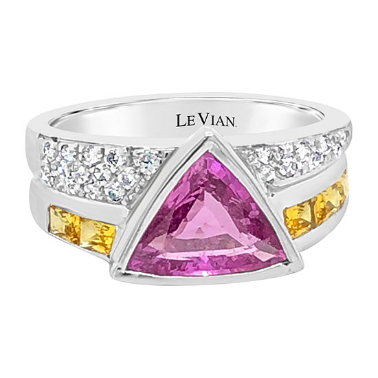 Le Vian Grand Sample Sale™ Ring featuring Bubble Gum Pink Sapphire™ Yellow Sapphire set in 18K Vanilla Gold®