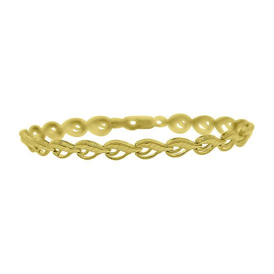 10K Gold 8 Inch Solid Link Bracelet