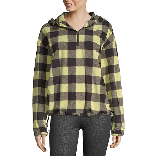 Flirtitude Womens Hooded Neck Long Sleeve Sweatshirt Juniors